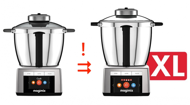 Magimix lance un kit de conversion pour Cook Expert pour le transformer en version XL
