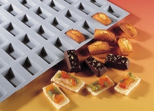 140x101 - Elastomoule mini financiers DE BUYER