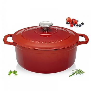140x140 - Cocotte fonte Chasseur ronde