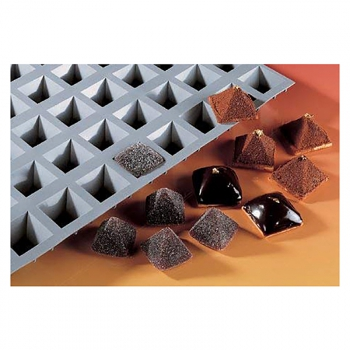 140x140 - Elastomoule mini pyramides DE BUYER