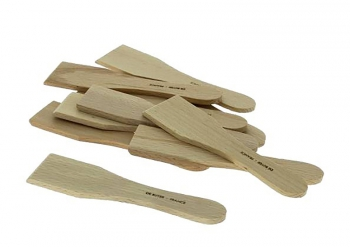 Lot de 10 mini Spatules à Raclette/Blinis B Bois De Buyer 98