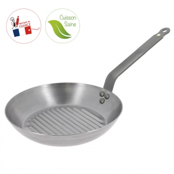 Poêle grill Mineral B Element De Buyer 140