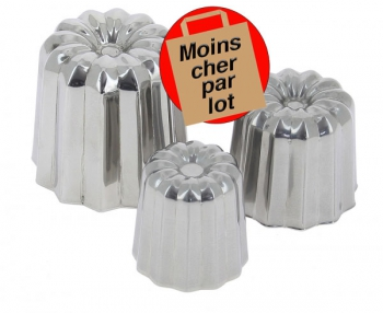 140x114 - Moule à canelé inox De Buyer