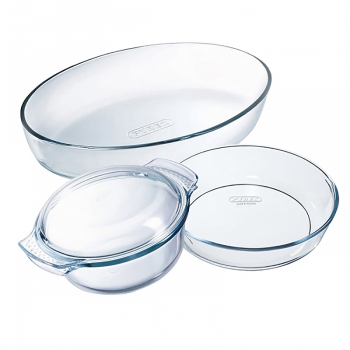 Ensemble plats Pyrex Four 140