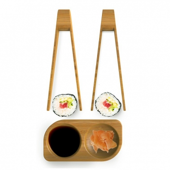 140x140 - Set 2 Mini Pinces Sushi + Coupelle Pebbly