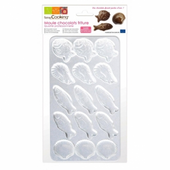 140x140 - Moule chocolats friture Scrapcooking